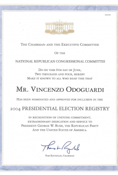 2004 Presidential Election Registry